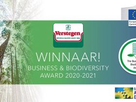 Verstegen wint Business and Biodiversity award