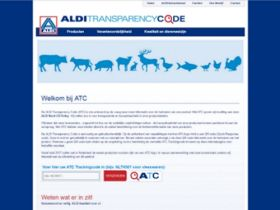 Aldi introduceert transparantiecode
