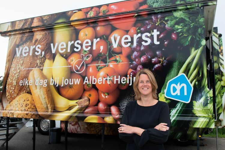 Marit van Egmond, Albert Heijn