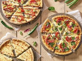 Domino's presenteert Vegan Pizza